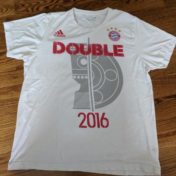 FC Bayern Munich Munchen Adidas Shirt L Large 2016